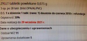 Na jaką odpłatność wydać Zyllt (fot. rx.edu.pl)?