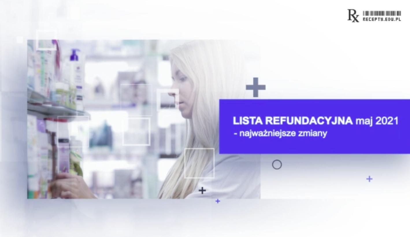Od 1 maja obowiązuje nowa lista leków refundowanych (fot. rx.edu.pl).