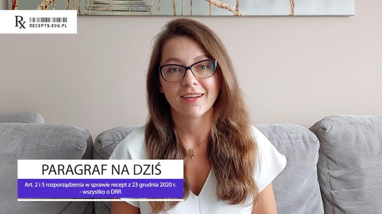 W DRR przekazujemy również do systemu teleinformatycznego dane odnośnie wydawanego produktu leczniczego (fot. rx.edu.pl).